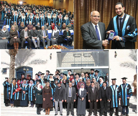 Zarqa University  - Graduates of the Faculty of Pharmacy Performed Proffession's Oath