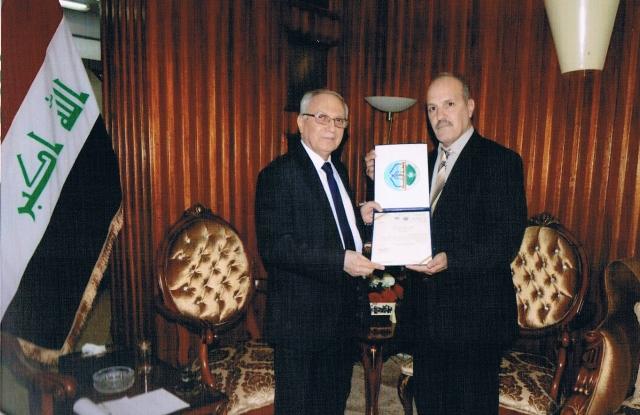 ZU Congratulates Professor Dr Abdul Razzaq Al Issa