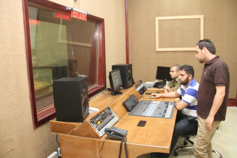 "Zarqa University  - Broadcasting Radio ""Liqa'"" at ZU"