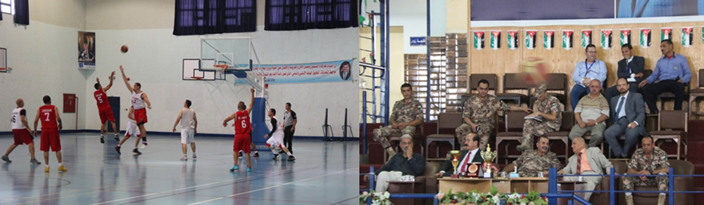 Zarqa University  - Zarqa University Hostes the Final Basketball Game
