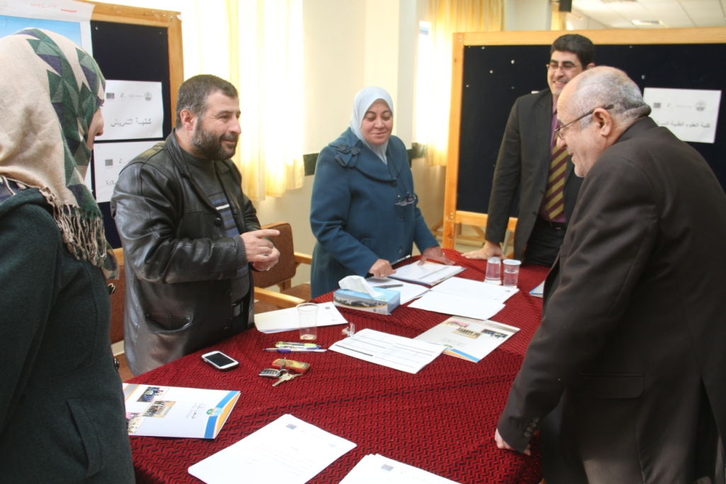 Zarqa University - ZU Interviews Syrian Students who Applied for EDU-Syria